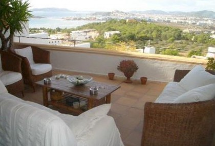 Triplex villa for sale Ibiza town with views over Talamanca 2