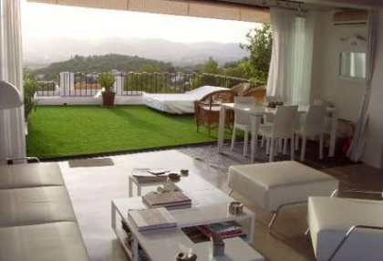 Triplex villa for sale Ibiza town with views over Talamanca 3