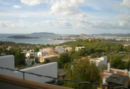 Triplex villa for sale Ibiza town with views over Talamanca 5