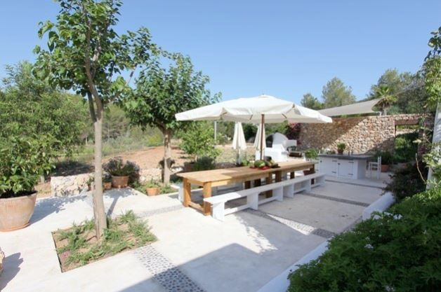 Country home with pool & guest house between Ibiza Town & Santa Eularia  Ibiza properties for sale