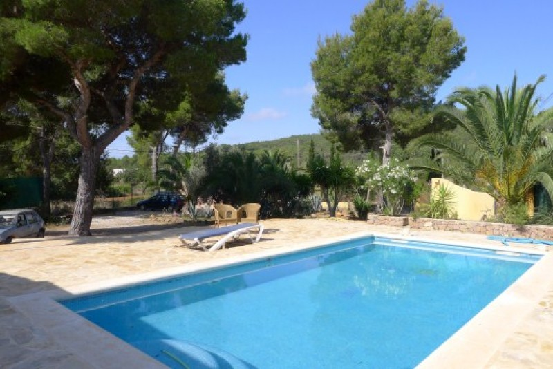 Immaculate family sized home for sale in San Carlos, Ibiza with Countryside Views