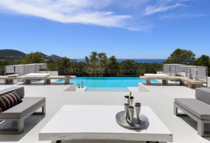 Ibiza west coast sea view luxury villa for sale with sunsets 1