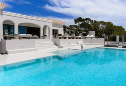Ibiza west coast sea view luxury villa for sale with sunsets 16