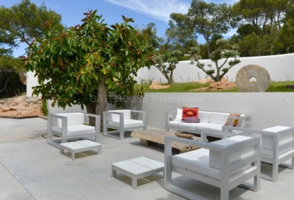 Ibiza west coast sea view luxury villa for sale with sunsets 5