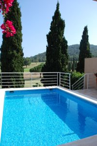 Three bedroom townhouse with pool for sale in Roca Llisa, Ibiza
