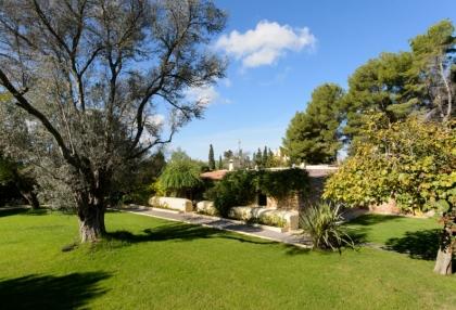 Large traditional Ibiza finca with guesthouse pool vineyard 1