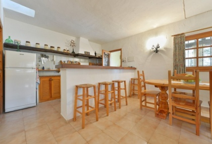 Large traditional Ibiza finca with guesthouse pool vineyard 29