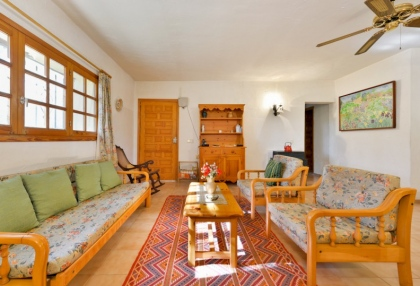 Large traditional Ibiza finca with guesthouse pool vineyard 30
