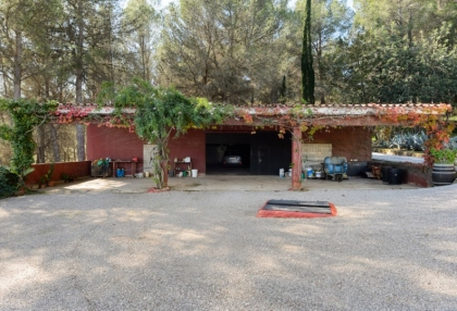 Large traditional Ibiza finca with guesthouse pool vineyard 35