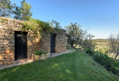 Large traditional Ibiza finca with guesthouse pool vineyard 38