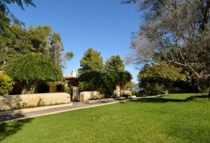 Large traditional Ibiza finca with guesthouse pool vineyard 5