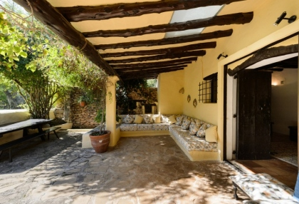 Large traditional Ibiza finca with guesthouse pool vineyard 7