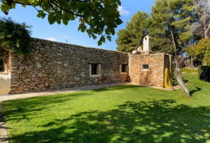 Large traditional Ibiza finca with guesthouse pool vineyard 9