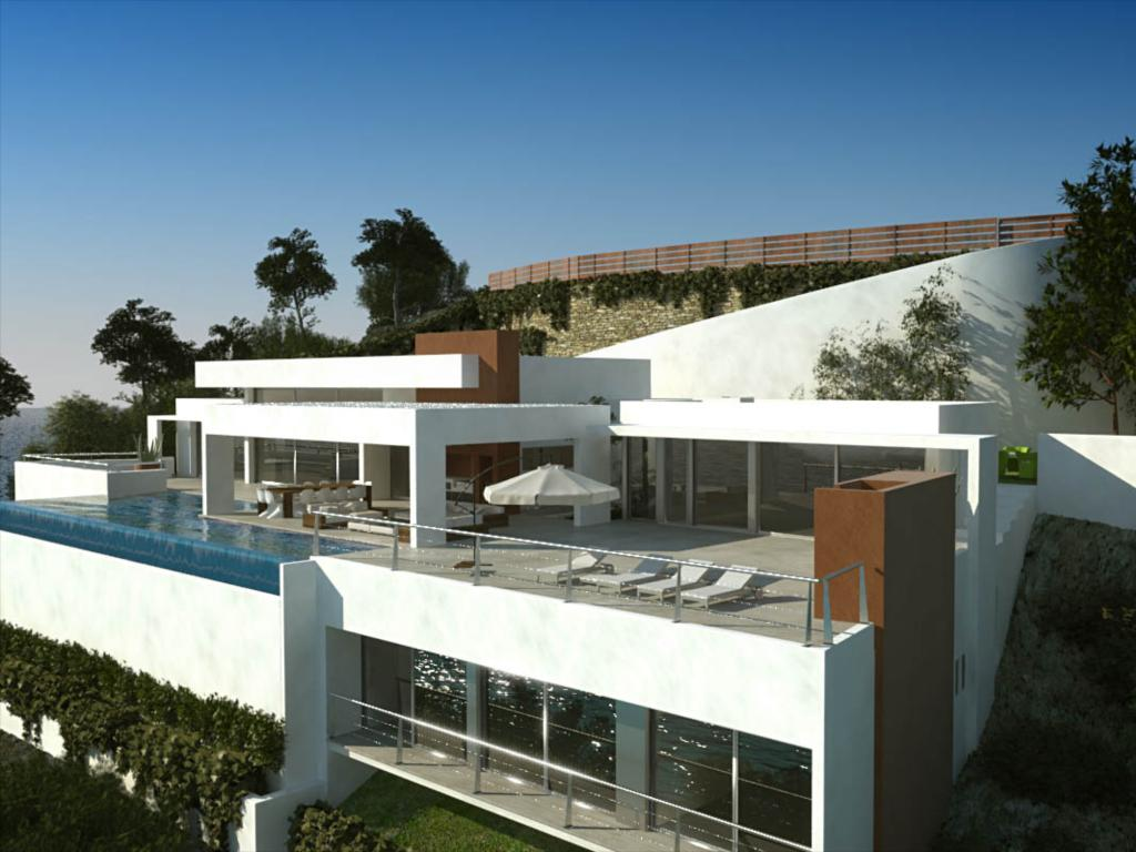 Luxury home for sale with views over formentera ibiza for Luxury contemporary homes for sale