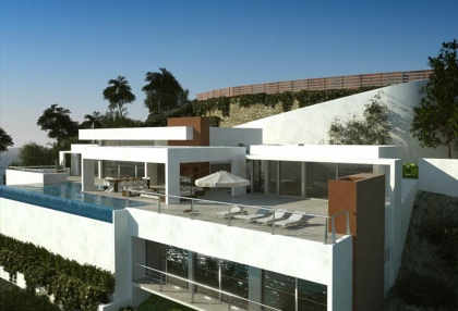 Luxury, contemporary sea view home for sale Ibiza - 9