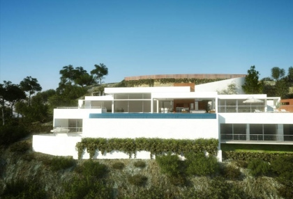 Luxury, contemporary sea view home for sale Ibiza - 1