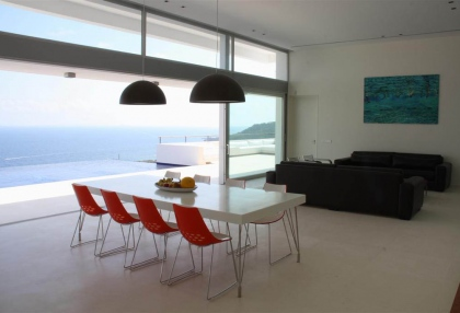 Luxury, contemporary sea view home for sale Ibiza - 3
