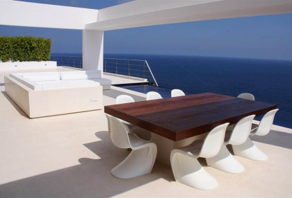 Luxury, contemporary sea view home for sale Ibiza - 2