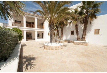 Mountain Estate for sale with modern house sea views large plot Santa Eularia Ibiza 14