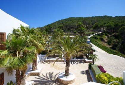 Mountain Estate for sale with modern house sea views large plot Santa Eularia Ibiza 4