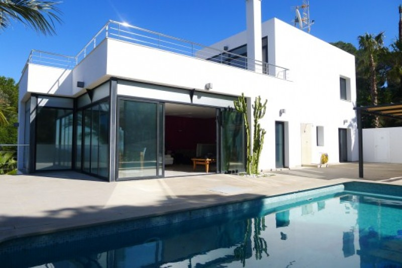 Contemporary style new build home for sale in roca llisa for Contemporary style homes for sale