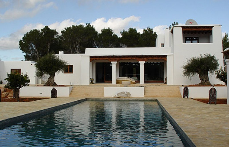 Newly constructed Blakstad-designed villa with 2 guest apartments, Santa Eulalia, Ibiza