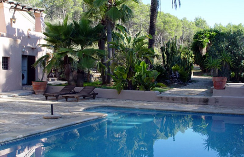 Newly reformed rural finca for sale Santa Gertrudis Ibiza with pool & guest house