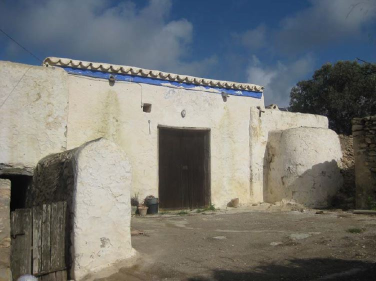 Old finca ruin with sea views for sale in San Juan Ibiza – ideal building & renovation project