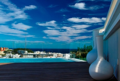 Contemporary Ibiza town house with separate apartment in Santa Eularia 1 (12)