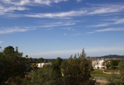 Newly built 3 bedroom countryside villa for sale San Agustin Ibiza with distant sea views 11