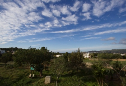 Newly built 3 bedroom countryside villa for sale San Agustin Ibiza with distant sea views 12