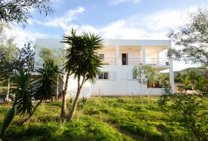 Newly built 3 bedroom countryside villa for sale San Agustin Ibiza with distant sea views 2
