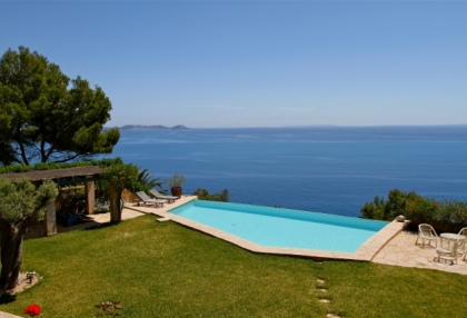 Ibiza Es Cubells luxury frontline to sea houses for sale 12