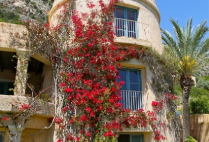 Ibiza Es Cubells luxury frontline to sea houses for sale 3