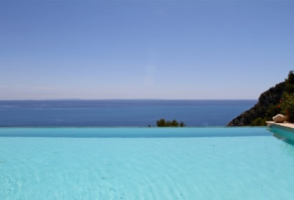 Ibiza Es Cubells luxury frontline to sea houses for sale 4