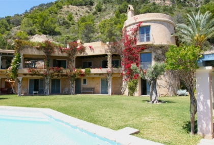 Ibiza Es Cubells luxury frontline to sea houses for sale 5