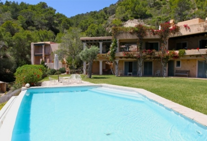 Ibiza Es Cubells luxury frontline to sea houses for sale 6