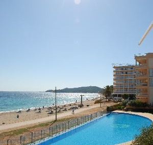 Playa den Bossa Ibiza luxury apartment for sale frontline to beach 1