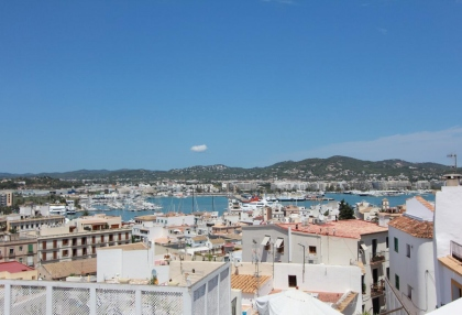 Dalt Vila houses for sale overlooking Ibiza town harbour and marina 1