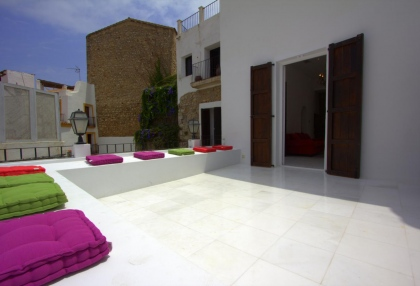 Dalt Vila houses for sale overlooking Ibiza town harbour and marina 4