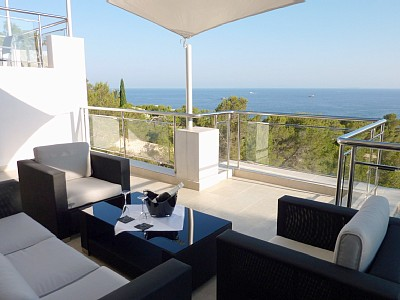 Luxury Villa with Stunning Sea Views, Ibiza