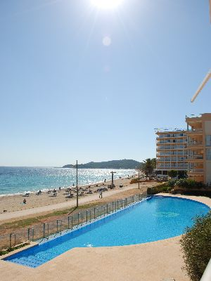 Unique Beach Apartment for sale in Playa Den Bossa, Ibiza