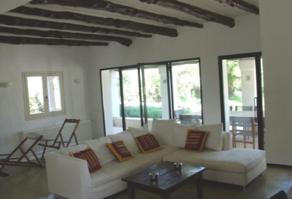 5 bedroom villa for sale San Jose Ibiza with guest apartment 6