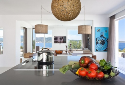 Luxury modern contemporary villa with sea views for sale Cap Negret Ibiza 16