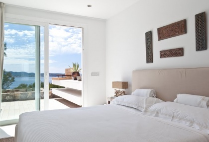 Luxury modern contemporary villa with sea views for sale Cap Negret Ibiza 19