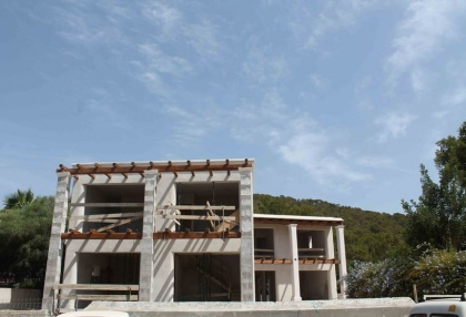 House project for sale in quiet area Santa Eularia Ibiza 1