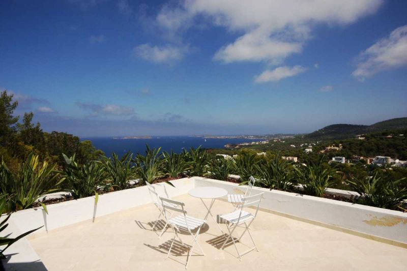Luxury contemporary villa for sale with amazing sea views San Jose Ibiza