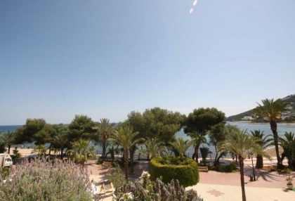 Modern apartment in Santa Eularia Ibiza right on the beach 1