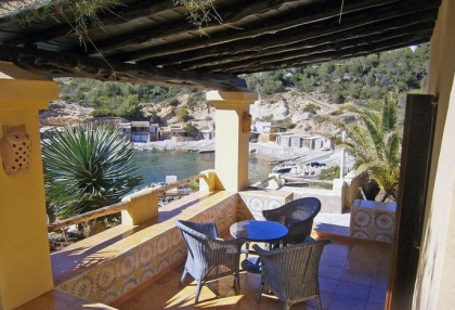 sea front villas for sale in Cala Corral Ibiza 1