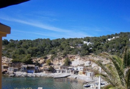 sea front villas for sale in Cala Corral Ibiza 11